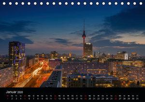 Die Blaue Stunde in Berlin