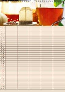 Tee - Liebhaber Jahresplaner (Wandkalender 2019 DIN A3 hoch)
