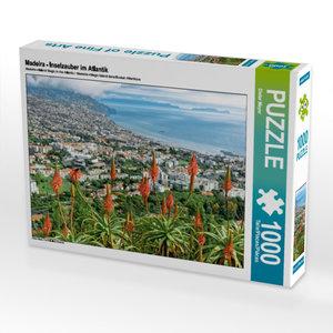 CALVENDO Puzzle Madeira - Inselzauber im Atlantik 1000 Teile Leg
