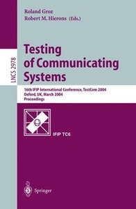 Testing of Communicating Systems
