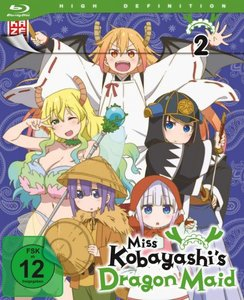 Miss Kobayashi\'s Dragon Maid - Blu-ray 2