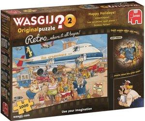 Puzzel Wasgij Original 2 Retro Vakantiepret 1000 Stukjes