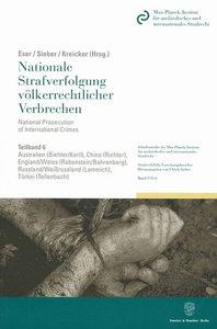 Nationale Strafverfolgung völkerrechtlicher Verbrechen / Nationa