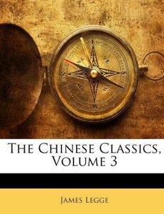 The Chinese Classics, Volume 3