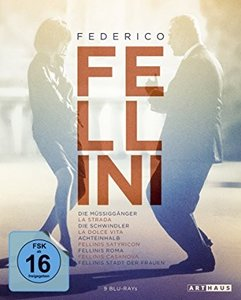 Federico Fellini Edition, Blu-ray