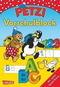 Petzi Beschäftigungsbücher: Petzi Vorschulblock