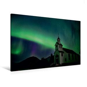 Premium Textil-Leinwand 120 cm x 80 cm quer Norwegen