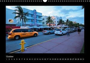 Colors of Miami Beach (Wall Calendar perpetual DIN A3 Landscape)