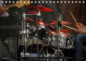 Schlagzeug onstage - abgerockt