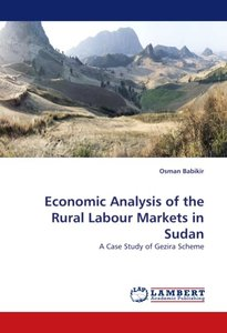 Economic Analysis of the Rural Labour Markets in Sudan