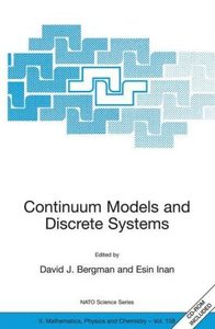 Continuum Models and Discrete Systems