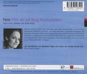 Nele 12. Film ab auf Burg Kuckuckstein