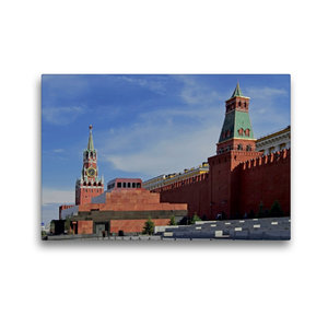 Premium Textil-Leinwand 45 cm x 30 cm quer Roter Platz mit Lenin