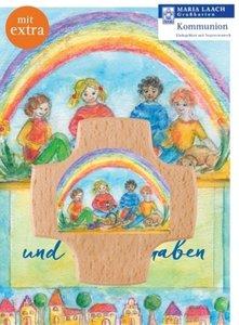"""Kreuz & Grußkarte \""""Segne uns und diese Gaben\"""""""