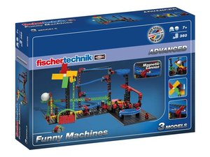 Fischertechnik 551588 - ADVANCED Funny Machines-Kettenreaktion,