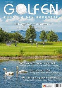 Golfen rund um den Bodensee 2018