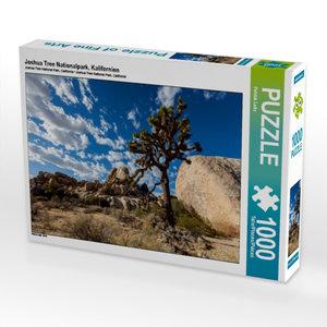 Joshua Tree Nationalpark, Kalifornien 1000 Teile Puzzle quer