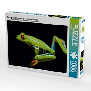 Rotaugenlaubfrosch (Agalychnis callidryas) 1000 Teile Puzzle que