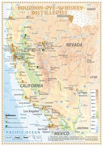 Bourbon-Rye-Whiskey Distilleries in California-Nevada - Tasting