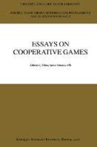 Essay in Cooperative Games