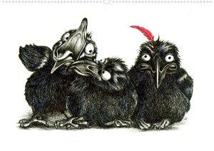 owls & friends (Posterbuch DIN A2 quer)