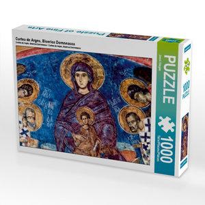 Curtea de Arges, Biserica Domneasca 1000 Teile Puzzle quer