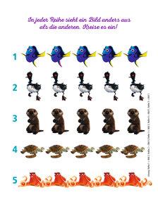 Disney Findet Dorie: Rätsel- und Spielspaß für Kindergartenkinde