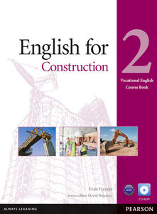 Vocational English Level 2 English for Construction (with CD-ROM