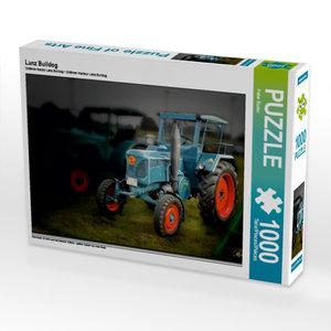 Lanz Bulldog 1000 Teile Puzzle quer