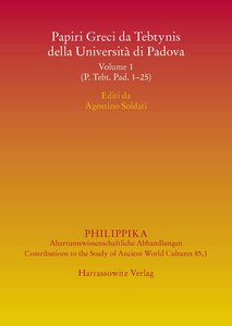 Papiri Greci da Tebtynis della Università di Padova