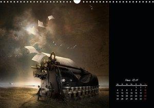 Irgendwo im Reich der Fantasie (Wandkalender 2019 DIN A3 quer)