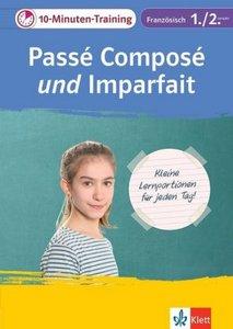 Klett 10-Minuten-Training Französisch Passé composé und Imparfai