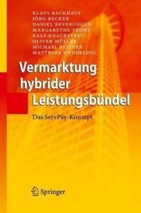 Vermarktung hybrider Leistungsbündel