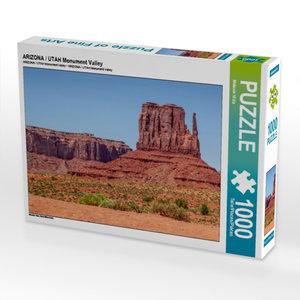 ARIZONA / UTAH Monument Valley 1000 Teile Puzzle quer