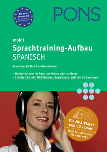 PONS mobil Sprachtraining - Aufbau Spanisch. 2 CDs