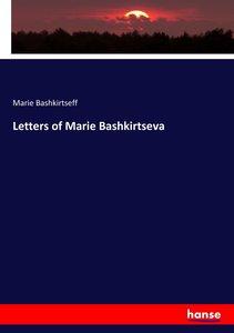 Letters of Marie Bashkirtseva