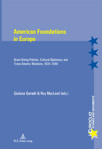 American Foundations in Europe