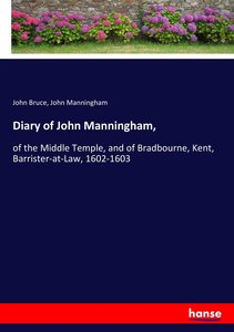 Diary of John Manningham,