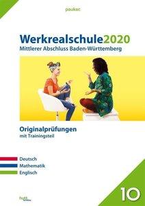 Werkrealschule 2020 - Mittlerer Abschluss Baden-Württemberg