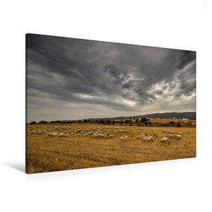 Premium Textil-Leinwand 120 cm x 80 cm quer Wilde Landschaft