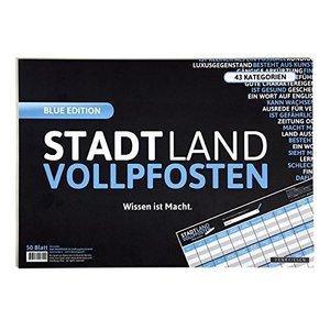 Stadt Land Vollpfosten® - Wissen ist Macht, BLUE EDITION, Offizi