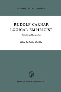 Rudolf Carnap, Logical Empiricist