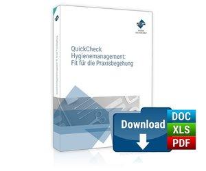 QuickCheck Hygienemanagement : Fit für die Praxisbegehung, PREMI