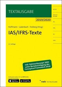 IAS/IFRS-Texte 2019/2020, mit 1 Buch, mit 1 Online-Zugang