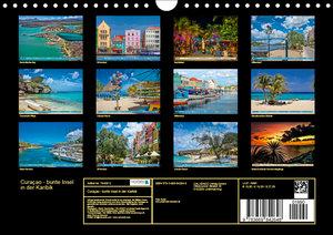 Curaçao - bunte Insel in der Karibik (Wandkalender 2019 DIN A4 q