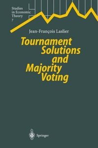 Tournament Solutions and Majority Voting