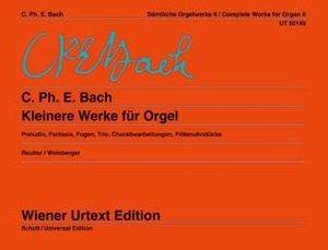 Kleinere Werke, Orgel. Tl.2