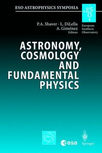 Astronomy, Cosmology and Fundamental Physics