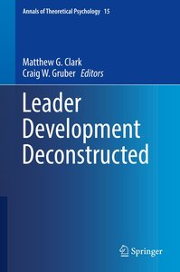 Leader Development Deconstructed
