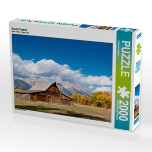 Grand Tetons 2000 Teile Puzzle quer